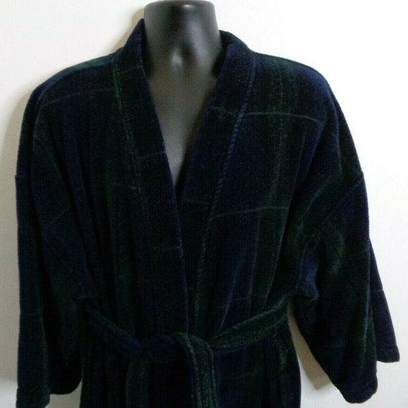 Harbor Bay Other Terry Cloth Robe Xl Blue Made In Turkey Poshmark